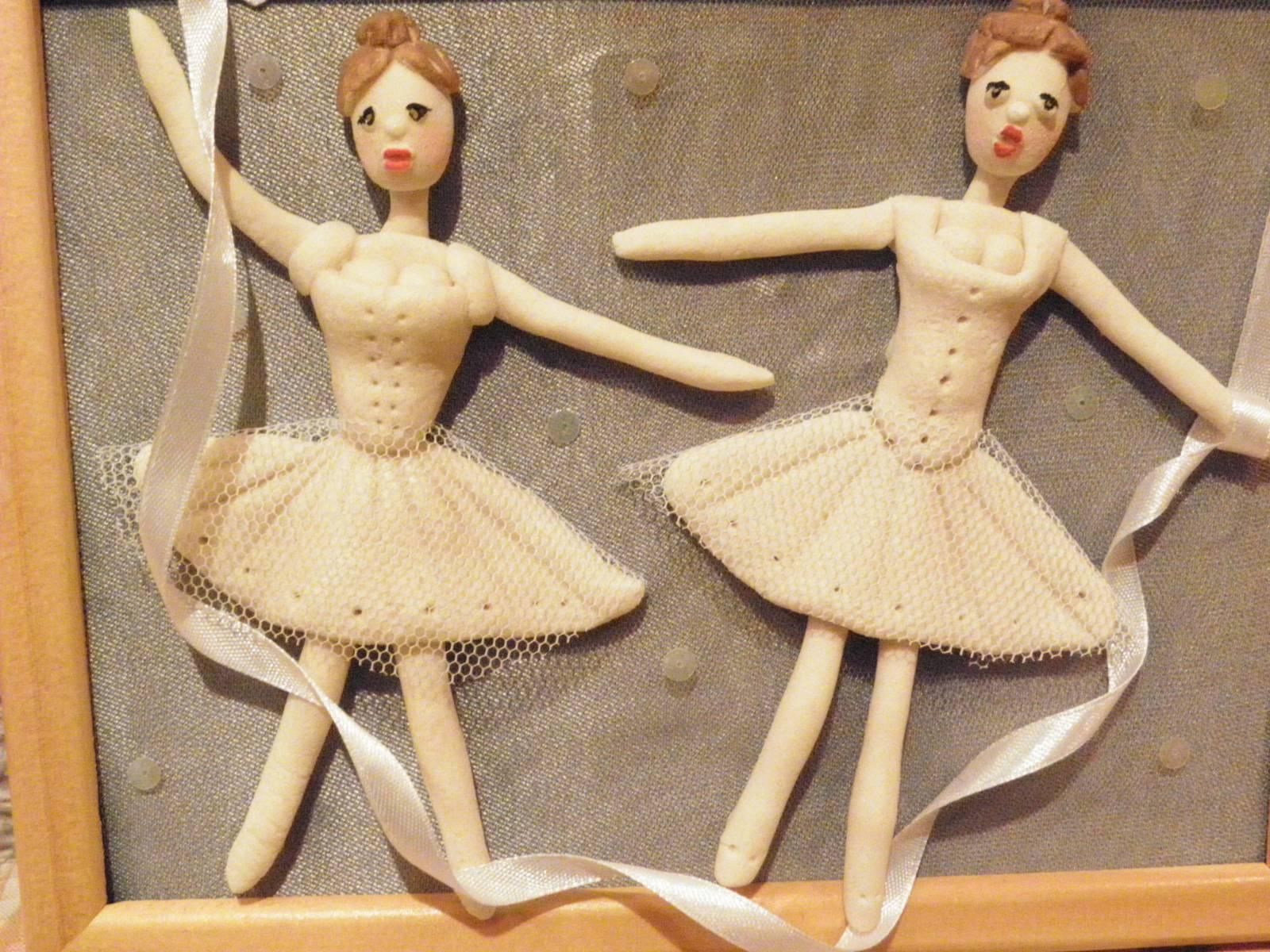 Красивая кукла из соленого теста своими руками Уроки Рукоделия 97
